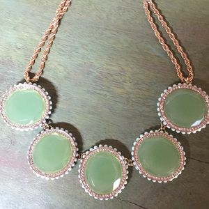 Dazzling 5 stone necklace